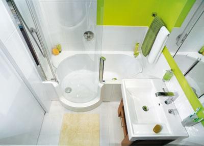 Panelákové koupelny malé