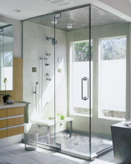 Koupelna se sprchovým koutem » MODERNÍ PANELÁK